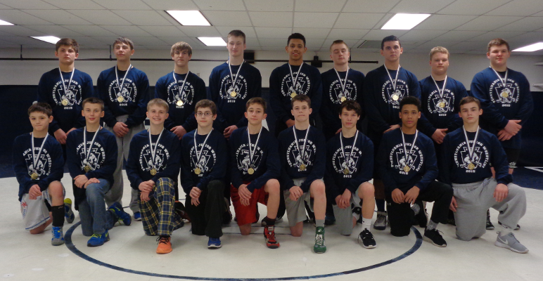 2015 PJW Area II Junior High Champs
